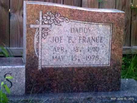 DAVIS, JOE E FRANCE (CLOSE UP) - Pulaski County, Arkansas | JOE E FRANCE (CLOSE UP) DAVIS - Arkansas Gravestone Photos
