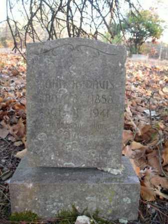 DAVIS, JOHN H - Pulaski County, Arkansas | JOHN H DAVIS - Arkansas Gravestone Photos