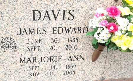 DAVIS, MARJORIE ANN - Pulaski County, Arkansas | MARJORIE ANN DAVIS - Arkansas Gravestone Photos