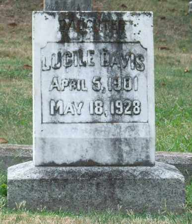 DAVIS, LUCILE - Pulaski County, Arkansas | LUCILE DAVIS - Arkansas Gravestone Photos