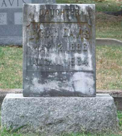 DAVIS, LYNAH - Pulaski County, Arkansas   LYNAH DAVIS - Arkansas Gravestone Photos