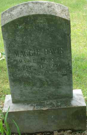 DAVIS, MAGGIE - Pulaski County, Arkansas | MAGGIE DAVIS - Arkansas Gravestone Photos