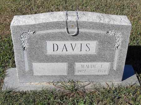 DAVIS, MAUDE F. - Pulaski County, Arkansas | MAUDE F. DAVIS - Arkansas Gravestone Photos