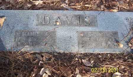 DAVIS, BENNIE - Pulaski County, Arkansas | BENNIE DAVIS - Arkansas Gravestone Photos