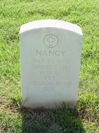 DAVIS, NANCY - Pulaski County, Arkansas   NANCY DAVIS - Arkansas Gravestone Photos
