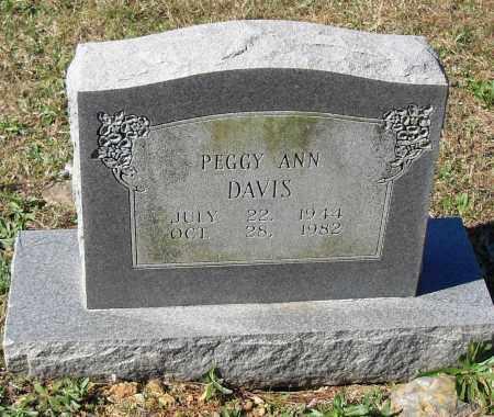 DAVIS, PEGGY ANN - Pulaski County, Arkansas | PEGGY ANN DAVIS - Arkansas Gravestone Photos