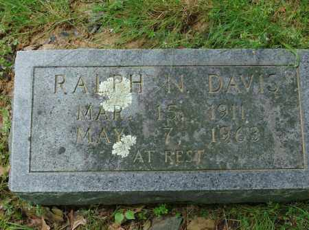 DAVIS, RALPH N - Pulaski County, Arkansas   RALPH N DAVIS - Arkansas Gravestone Photos