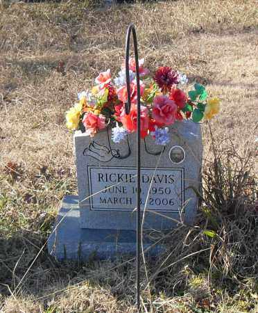 DAVIS, RICKIE - Pulaski County, Arkansas   RICKIE DAVIS - Arkansas Gravestone Photos