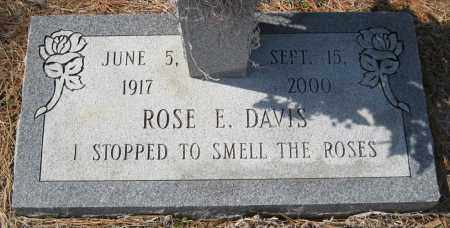 DAVIS, ROSE E - Pulaski County, Arkansas | ROSE E DAVIS - Arkansas Gravestone Photos