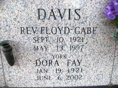 DAVIS, DORA FAY - Pulaski County, Arkansas   DORA FAY DAVIS - Arkansas Gravestone Photos