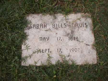 DAVIS, SARAH - Pulaski County, Arkansas | SARAH DAVIS - Arkansas Gravestone Photos