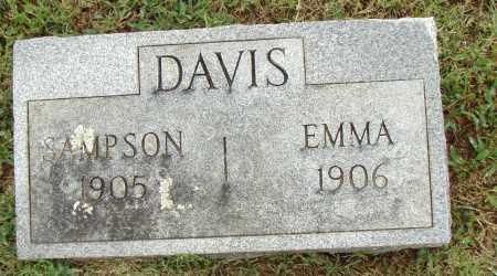 DAVIS, SAMPSON - Pulaski County, Arkansas   SAMPSON DAVIS - Arkansas Gravestone Photos