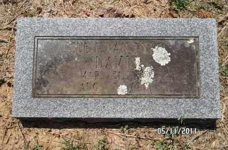 DAVIS, SUE - Pulaski County, Arkansas | SUE DAVIS - Arkansas Gravestone Photos