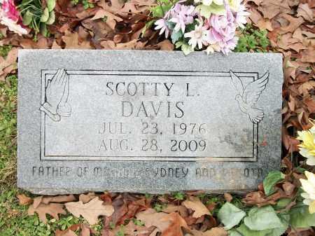 DAVIS, SCOTTY L. - Pulaski County, Arkansas | SCOTTY L. DAVIS - Arkansas Gravestone Photos