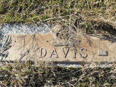 DAVIS, UNKNOWN - Pulaski County, Arkansas   UNKNOWN DAVIS - Arkansas Gravestone Photos