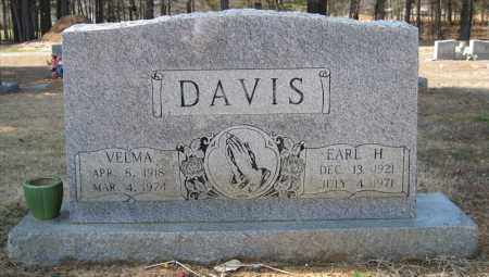 DAVIS, EARL H - Pulaski County, Arkansas | EARL H DAVIS - Arkansas Gravestone Photos
