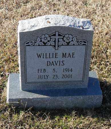 DAVIS, WILLIE MAE - Pulaski County, Arkansas | WILLIE MAE DAVIS - Arkansas Gravestone Photos