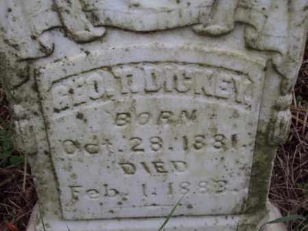 DICKEY, GEORGE T - Pulaski County, Arkansas | GEORGE T DICKEY - Arkansas Gravestone Photos