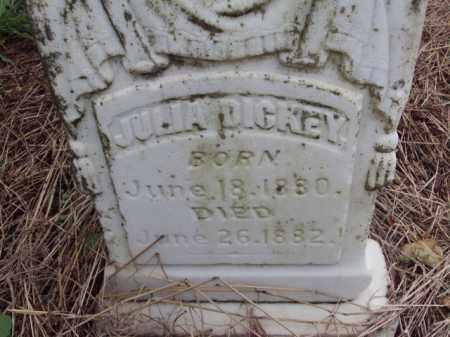 DICKEY, JULIA - Pulaski County, Arkansas   JULIA DICKEY - Arkansas Gravestone Photos