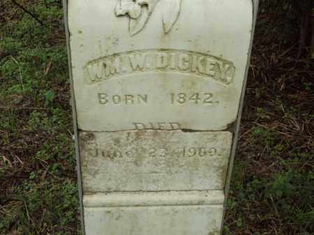 DICKEY, WILLIAM W - Pulaski County, Arkansas   WILLIAM W DICKEY - Arkansas Gravestone Photos