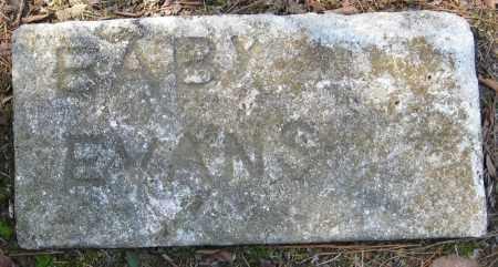 EVANS, BABY - Pulaski County, Arkansas | BABY EVANS - Arkansas Gravestone Photos