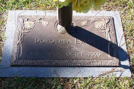 EVANS, DOROTHEA - Pulaski County, Arkansas | DOROTHEA EVANS - Arkansas Gravestone Photos