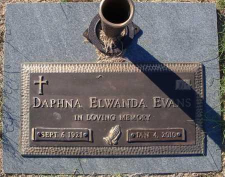 EVANS, DAPHNA ELWANDA - Pulaski County, Arkansas | DAPHNA ELWANDA EVANS - Arkansas Gravestone Photos