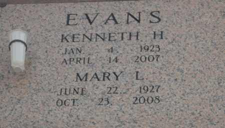 EVANS, KENNETH H - Pulaski County, Arkansas | KENNETH H EVANS - Arkansas Gravestone Photos