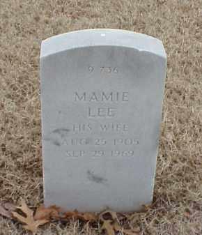 EVANS, MAMIE LEE - Pulaski County, Arkansas | MAMIE LEE EVANS - Arkansas Gravestone Photos