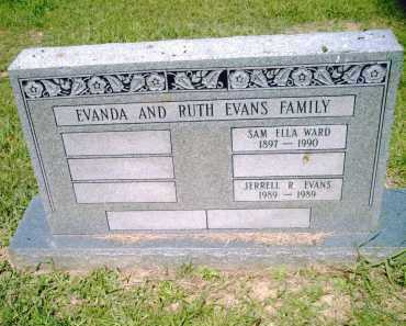 EVANS, JERRELL  R. - Pulaski County, Arkansas | JERRELL  R. EVANS - Arkansas Gravestone Photos