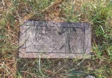 EVANS, TELLAR - Pulaski County, Arkansas   TELLAR EVANS - Arkansas Gravestone Photos