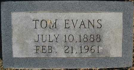 EVANS, TOM - Pulaski County, Arkansas | TOM EVANS - Arkansas Gravestone Photos