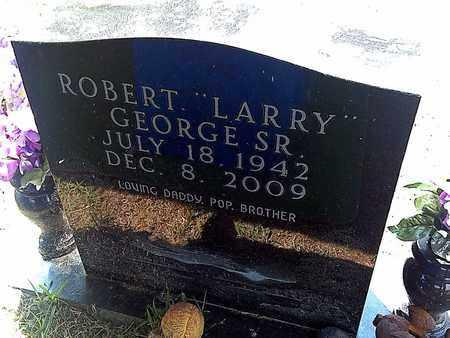 GEORGE, SR (VETERAN), ROBERT LARRY - Pulaski County, Arkansas | ROBERT LARRY GEORGE, SR (VETERAN) - Arkansas Gravestone Photos