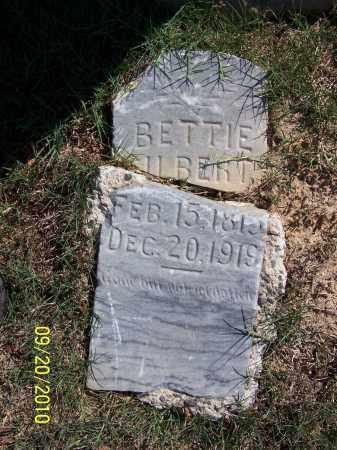 GILBERT, BETTIE - Pulaski County, Arkansas | BETTIE GILBERT - Arkansas Gravestone Photos