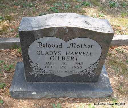 GILBERT, GLADYS - Pulaski County, Arkansas   GLADYS GILBERT - Arkansas Gravestone Photos