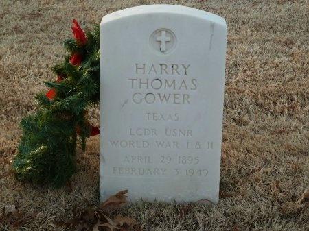GOWER (VETERAN 2 WARS), HARRY THOMAS - Pulaski County, Arkansas | HARRY THOMAS GOWER (VETERAN 2 WARS) - Arkansas Gravestone Photos