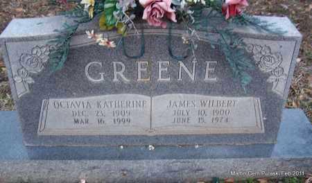 GREENE, OCTAVIA KATHERINE - Pulaski County, Arkansas | OCTAVIA KATHERINE GREENE - Arkansas Gravestone Photos