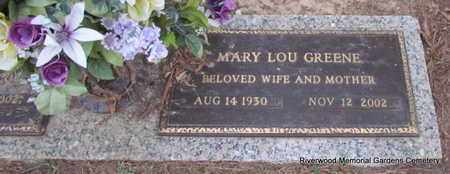 GREENE, MARY LOU - Pulaski County, Arkansas | MARY LOU GREENE - Arkansas Gravestone Photos