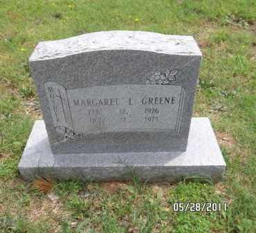 GREENE, MARGARET L - Pulaski County, Arkansas | MARGARET L GREENE - Arkansas Gravestone Photos