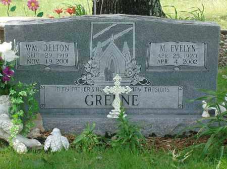GREENE, M. EVELYN - Pulaski County, Arkansas | M. EVELYN GREENE - Arkansas Gravestone Photos