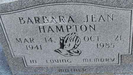 HAMPTON, BARBARA JEAN - Pulaski County, Arkansas | BARBARA JEAN HAMPTON - Arkansas Gravestone Photos