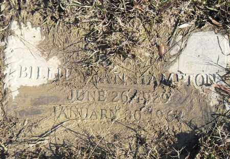HAMPTON, BILLIE JOAN - Pulaski County, Arkansas | BILLIE JOAN HAMPTON - Arkansas Gravestone Photos