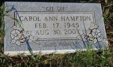 HAMPTON, CAROL ANN - Pulaski County, Arkansas   CAROL ANN HAMPTON - Arkansas Gravestone Photos