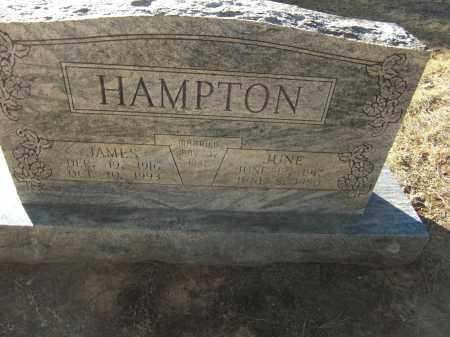 HAMPTON, JAMES - Pulaski County, Arkansas   JAMES HAMPTON - Arkansas Gravestone Photos