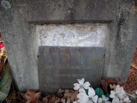 HAMPTON, JENNIE MAE - Pulaski County, Arkansas | JENNIE MAE HAMPTON - Arkansas Gravestone Photos