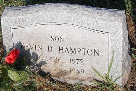 HAMPTON, KEVIN D - Pulaski County, Arkansas | KEVIN D HAMPTON - Arkansas Gravestone Photos
