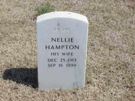 HAMPTON, NELLIE - Pulaski County, Arkansas | NELLIE HAMPTON - Arkansas Gravestone Photos