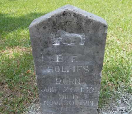 HOLMES, B F - Pulaski County, Arkansas | B F HOLMES - Arkansas Gravestone Photos