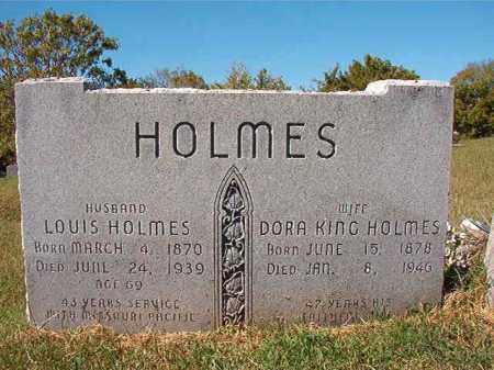 HOLMES, LOUIS - Pulaski County, Arkansas | LOUIS HOLMES - Arkansas Gravestone Photos