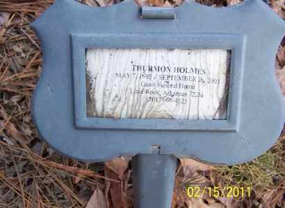 HOLMES, THURMON - Pulaski County, Arkansas | THURMON HOLMES - Arkansas Gravestone Photos